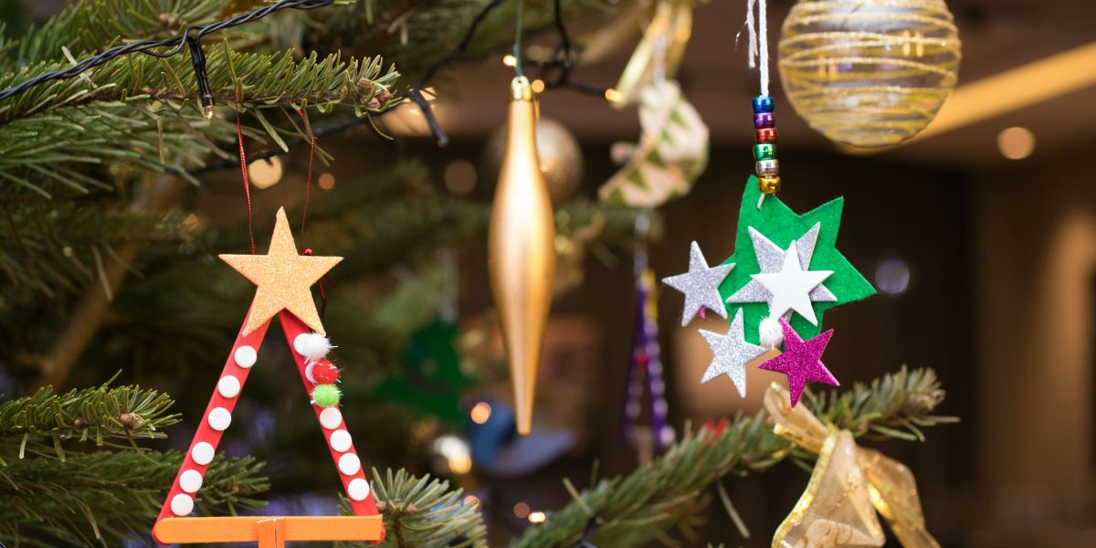 Christmas decorations made by St Georges_web