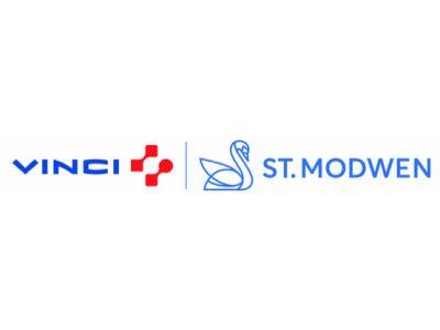 St. Modwen Vinci joint logo