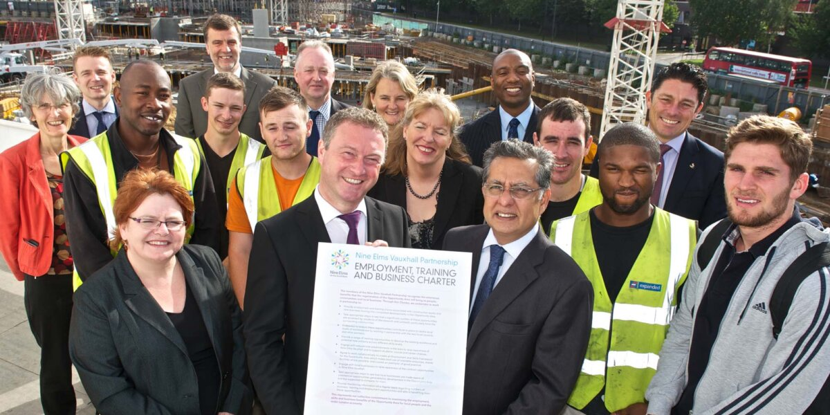 Employment Charter Launched at Riverlight