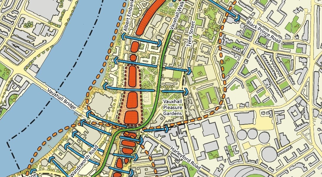 Vision map for Vauxhall