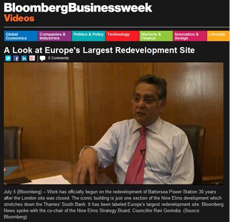 Bloomberg interview