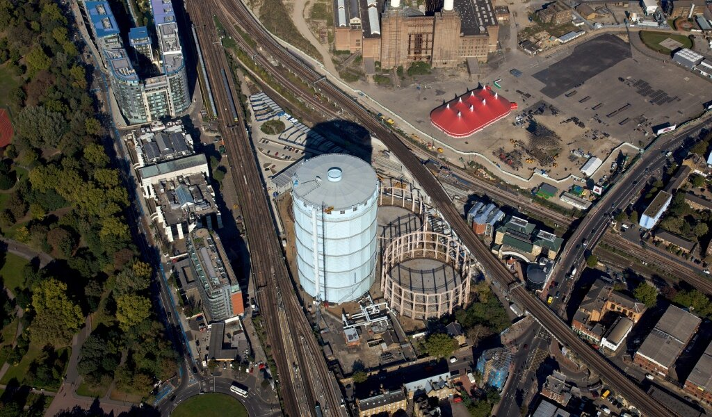 Battersea Gasholders site