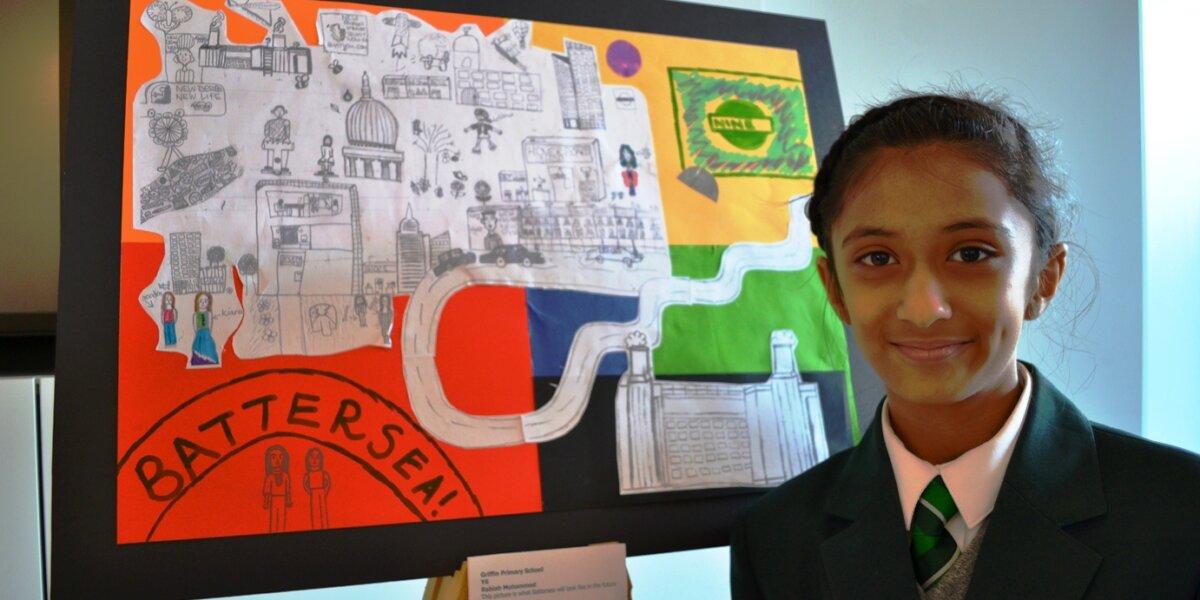 Nine Elms 2050: winner Rabiah Mohammed from Griffin