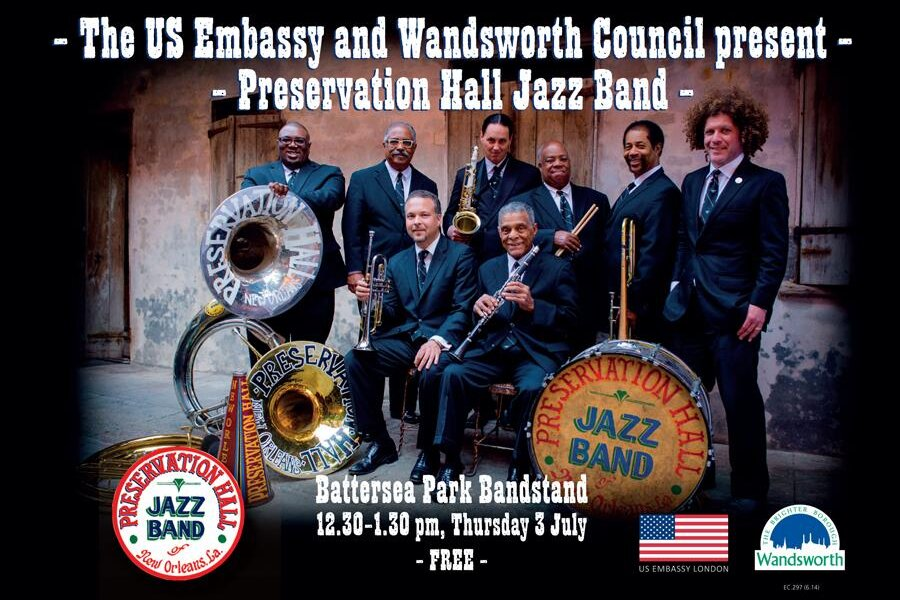 US embassy jazz concert