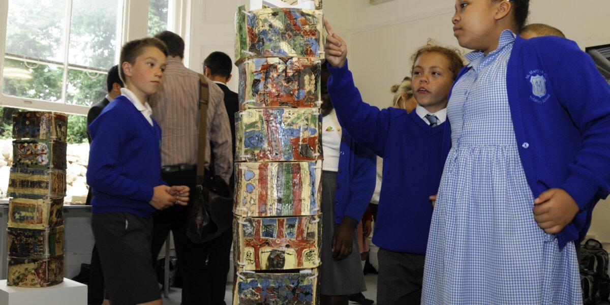 Battersea Gasholders pop up exhibition