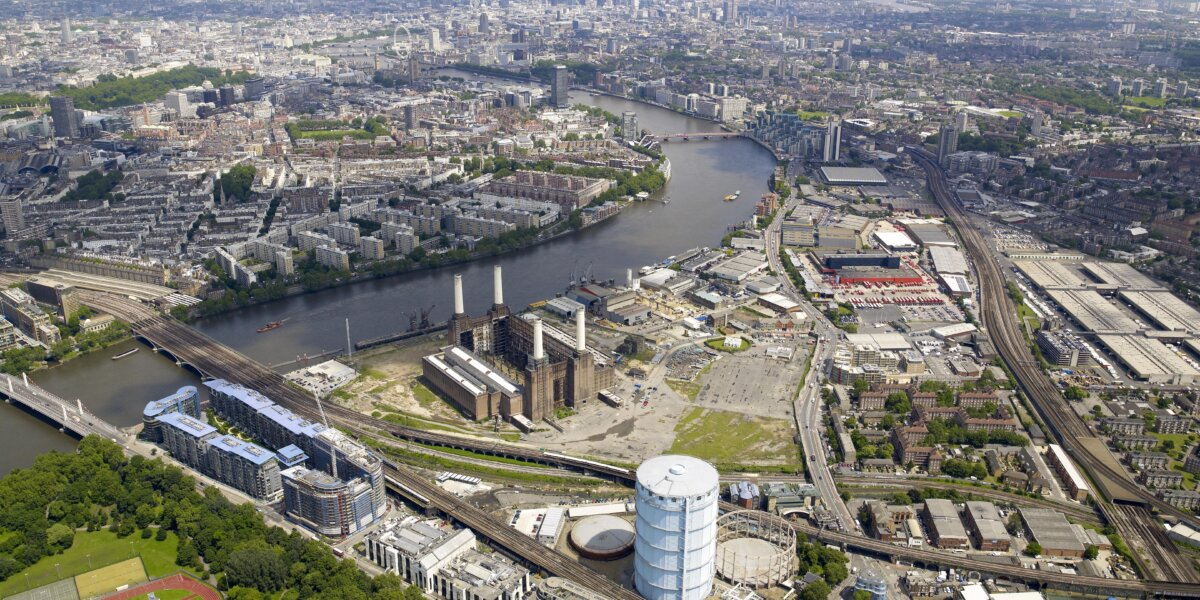 Nine Elms on the South Bank Before
