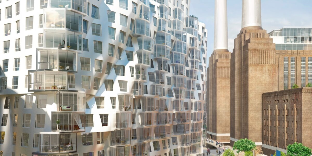 Phase 3 Gehry Partners' Prospect Place and Prospect Park