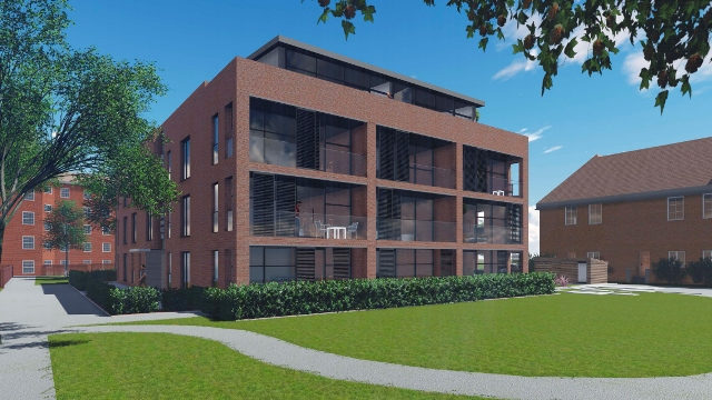 22 Wandsworth Council homes are being built on Stewarts Road, Nine Elms