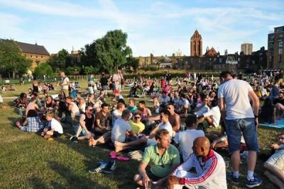 Pride in the Park 2014, Vauxhall Pleasure Gardens