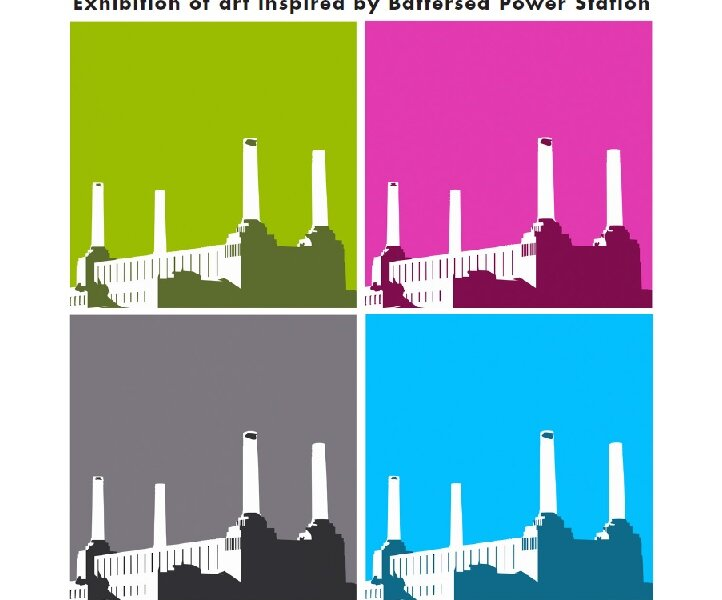 Battersea Art Station promotional graphic