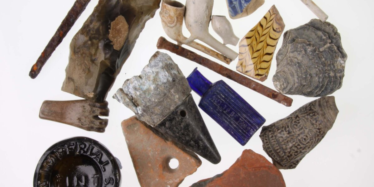 finds from the Thames foreshore