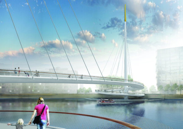Bystrup Architecture, Design and Engineering: View across river Thames
