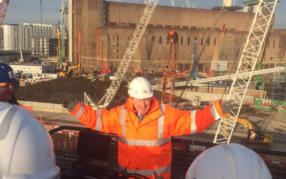 Mayor of London launches start of works on the Northern line extension at Battersea