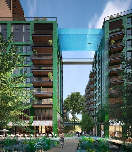Sky Pool - courtesy of Ballymore Group