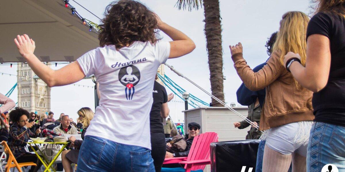 Salsa Rueda with Havana Londres in Vauxhall Pleasure Gardens