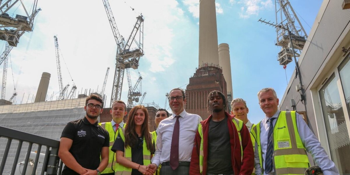 Construction Minister visit to BPS