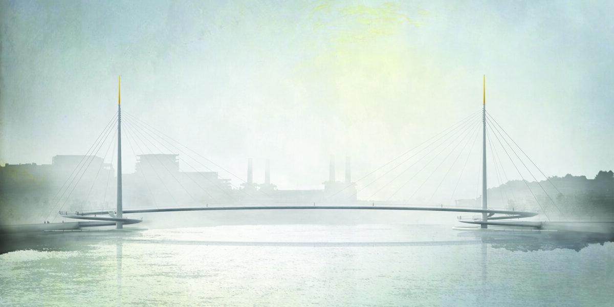 Artists impression bridge