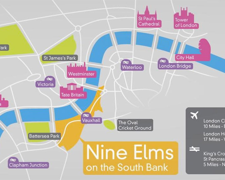 Nine Elms on the South Bank - About the area