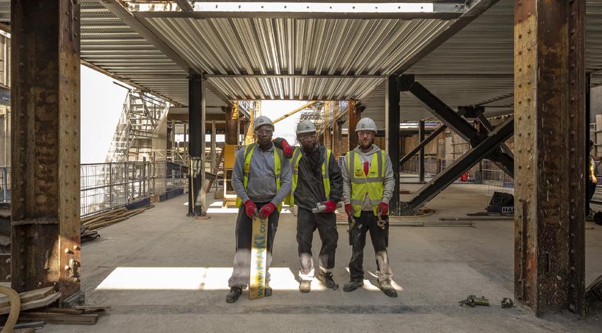 Nine Elms Construction Gateway