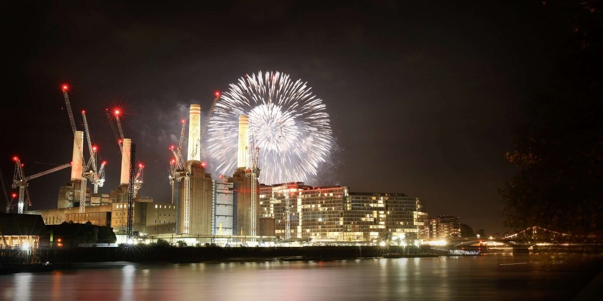 November Fireworks at Battersea Park