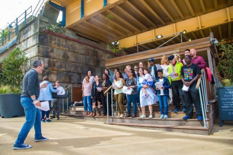 WAF10 Choirs