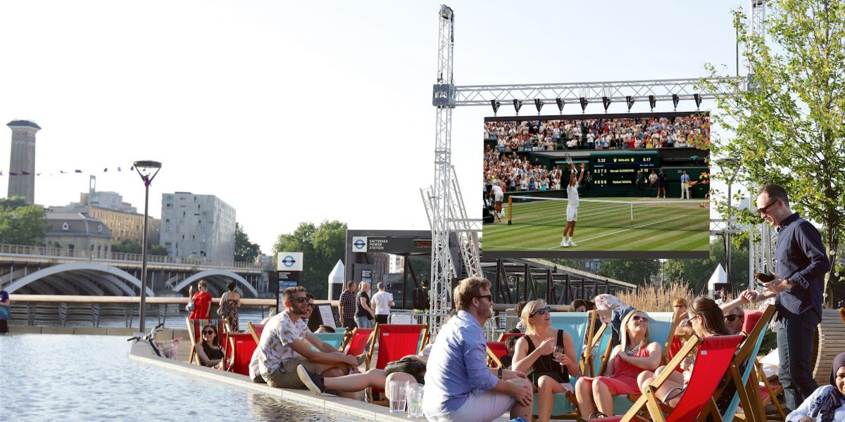 Wimbledon by the river