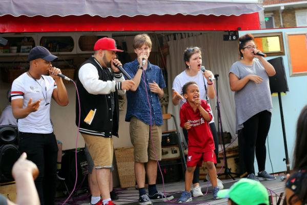 Beatbox Academy at Happy Streets