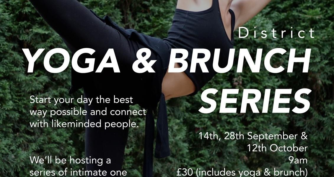 District cafe_yoga and brunch