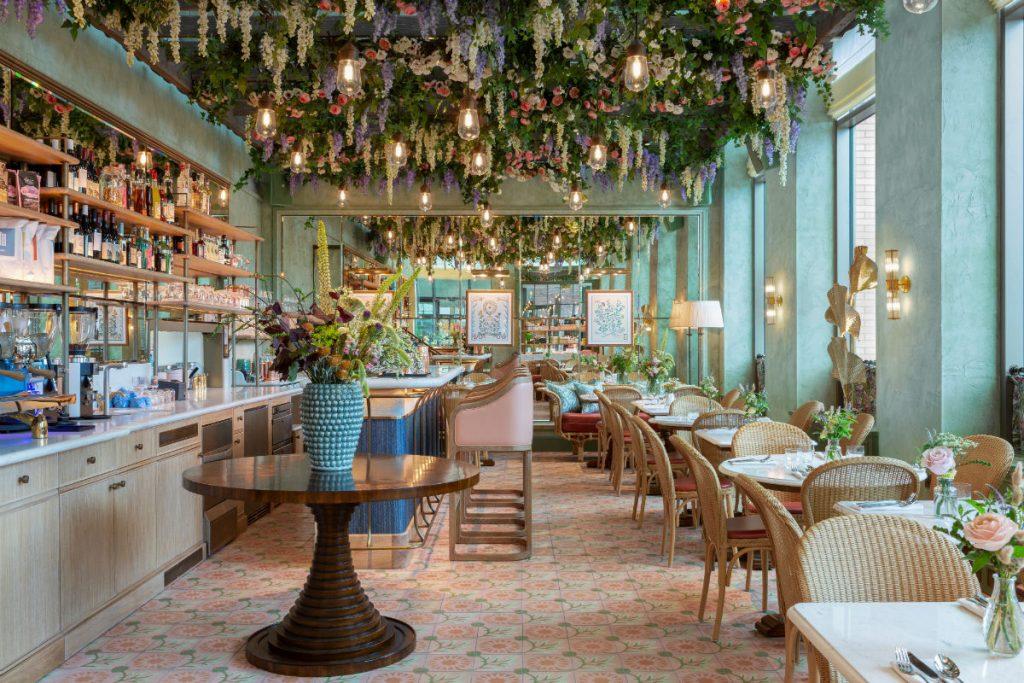 Linnaean cafe in Nine Elms