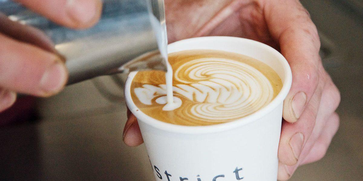 District coffee Nine Elms