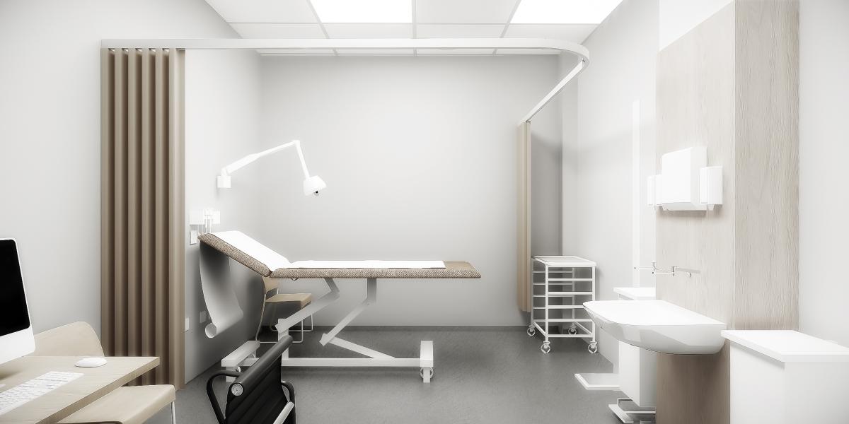 New Health Centre for Nine Elms - treatment room