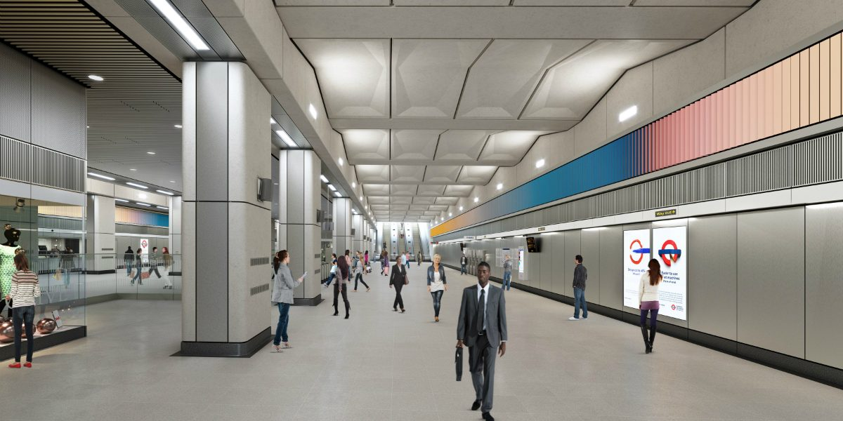 Opening soon: the Tube at Battersea Power Station