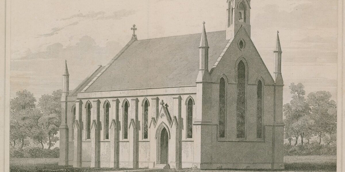 St George's Chapel near Nine Elms_image credit Look and Learn