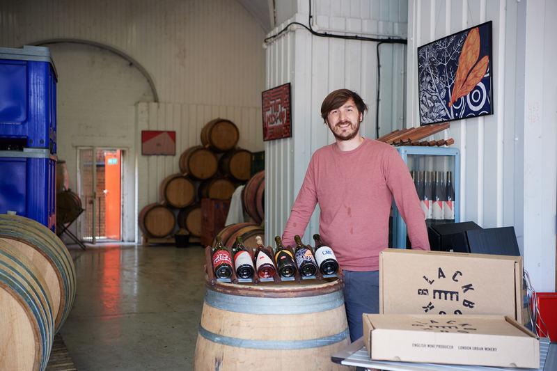 Winemaker and owner, Sergio Verrillo