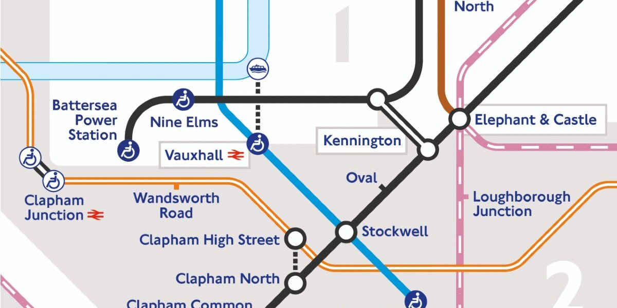 New London Underground Tube Map credit: Transport for London
